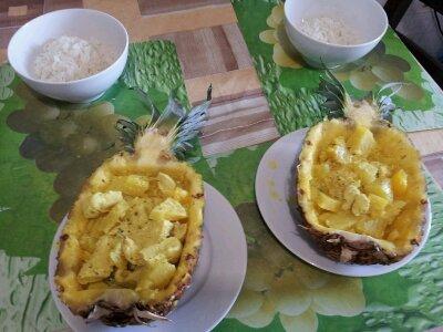 Курица в ананасе по Гавайски