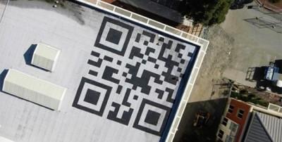 Qr-код на крыше офиса Facebook - новые перспективы рекламы
