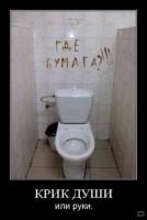 Где бумага! - туалетная стена жалоб