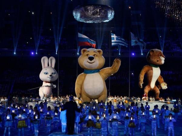 Церемония закрытия Сочинской Олипмиады 2014