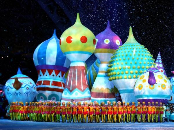 Церемония открытия Олимпиады Сочи 2014 - Купола соборов