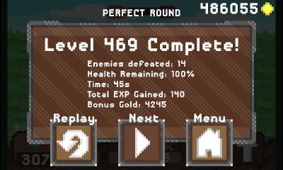 Мой самый быстро пройденный уровень - 45 секунд (Pixel Kingdom screenshot)