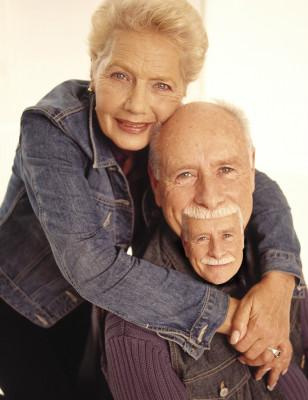 Рекурсия бороды - пожилая пара